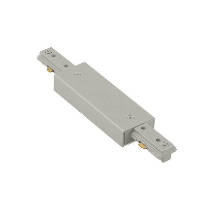 Straight Line Power Connector Finish: Brushed Nickel, Track Type: Juno Series