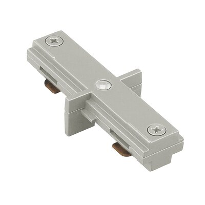 Dead End Straight Connector Finish: Brushed Nickel, Track Type: Lightolier Series
