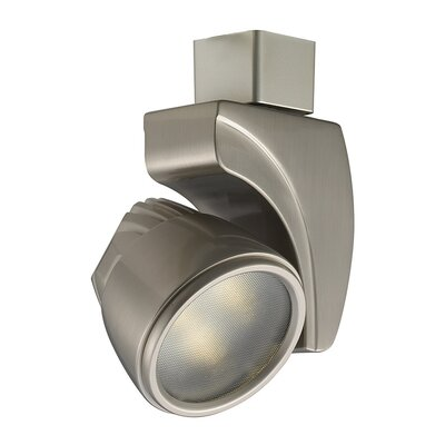 Low Voltage 9W Flood Lens Color Temperature: 4500K, Finish Color: Brushed Nickel, Mounting Option: L Series