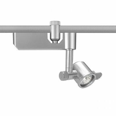 Flexrail1 1-Light Low Voltage Track Head Finish: Platinum, Bulb Type: 50W MR16 Halogen Bulb
