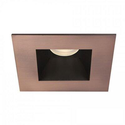 Tesla Open Square 3 LED Recessed Trim Finish: Copper Bronze