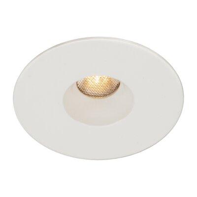 LEDme 2 Mini Recessed Downlight Finish: White, Bulb Color: Cool White