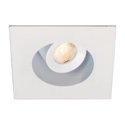 LEDme 2  Mini Recessed Downlights Finish: White, Bulb Color: Cool White