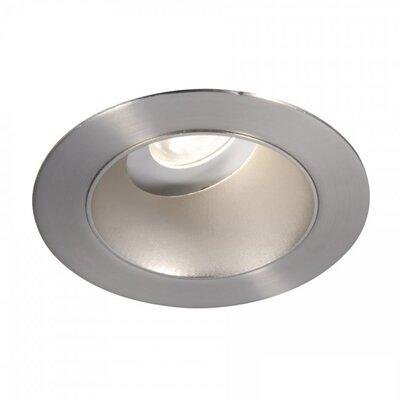 Tesla Adjustable 3000K 3.5 LED Recessed Trim Finish: Semi-Specular Clear/Copper Bronze