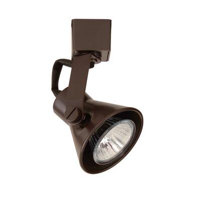 Miniature Luminaire 1-Light Loop Back Line Voltage Track Head Track Type: Lightolier, Finish: Dark Bronze