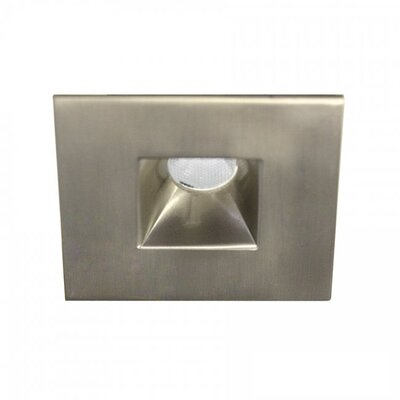 LEDme Mini Recessed Downlights Finish: Brushed Nickel, Bulb Color: Warm White