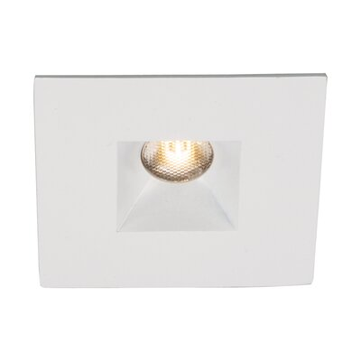 LEDme 2  Mini Recessed Downlights Finish: White, Bulb Color: Cool White