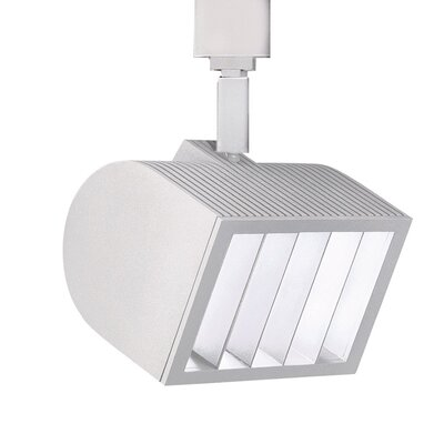 5-Light Wall Wash Luminaire Line Voltage Track Head Track Type: Halo Series, Finish: White