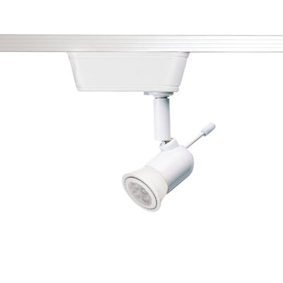 1-Light 3000K LED Low Voltage Track Head Finish: White, Track Collection: Halo Series