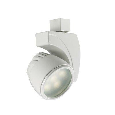 Reflex 3-Light 18W 3500K LED Track Head Track Collection: Juno Series, Finish: White, Lens Degree: Flood