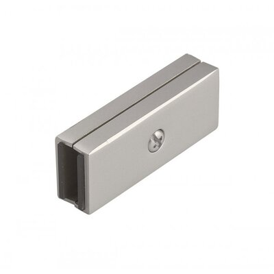 Duorail 2 Circuit I Dead End Straight Connector Finish: Bronze
