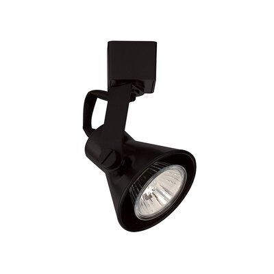 Miniature Luminaire 1-Light Loop Back Line Voltage Track Head Finish: Black, Track Type: Halo