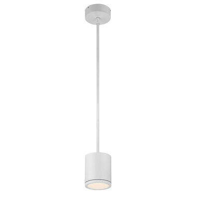 Tube 1-Light Mini Pendant Finish: White