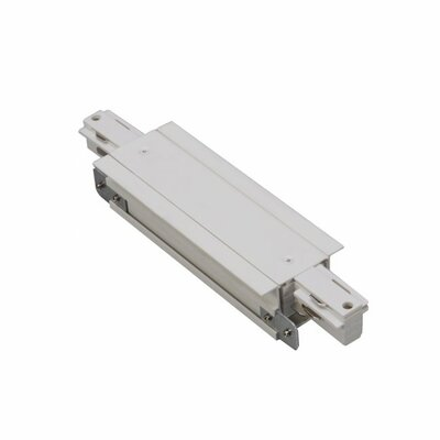 277V Track Recessed Connector Finish: White