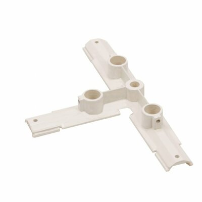 W Track T Connector Suspension Mount Finish: White