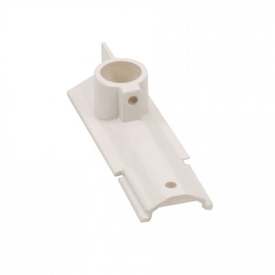 Track Live End Suspension Mount Finish: White