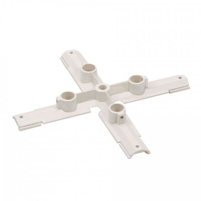 W Track X Connector Suspension Mount Finish: White