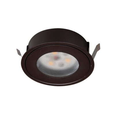 LEDme Button Light Retrofit Recessed Housing Finish: Dark Bronze