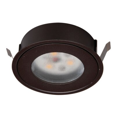 LEDme� Button Light Retrofit Recessed Housing Finish: Copper Bronze