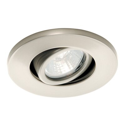 Miniature Low Voltage Recessed Light Finish: Brushed Nickel