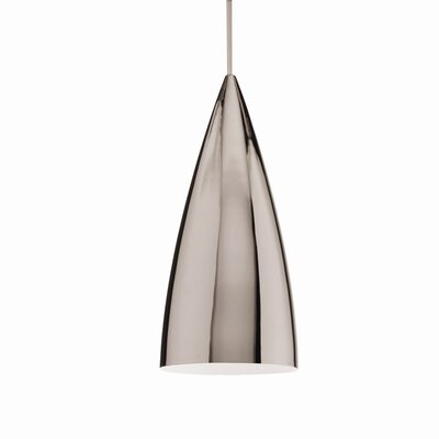 Industrial Bullet Quick Connect Foyer Pendant Finish: Chrome