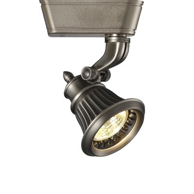 Rialto 1 Light Low Voltage Track Head Finish: Antique Bronze, Track Type: Juno Series, Bulb Type: 50W MR16G Halogen