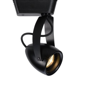 1 Light Impulse Track Luminaire Flood Lens Finish: Black, Track Type: Halo Series, Color Temperature: 3000K