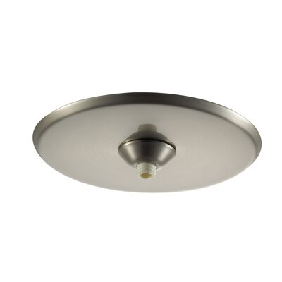 Quick Connect Round Surface Mount Canopy Finish: Brushed Nickel