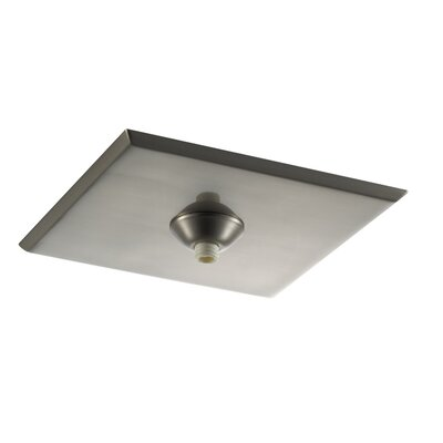 Quick Connect Square Surface Mount Canopy Finish: Brushed Nickel