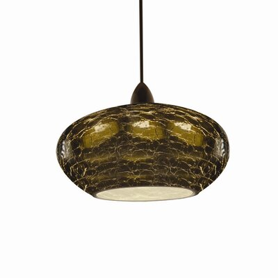 Artisan RHU LEDme Quick Connect 1-Light Monopoint Pendant Finish: Dark Bronze