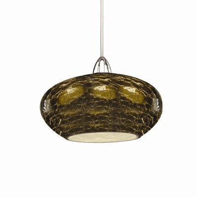 Artisan RHU LEDme Quick Connect 1-Light Monopoint Pendant Finish: Chrome