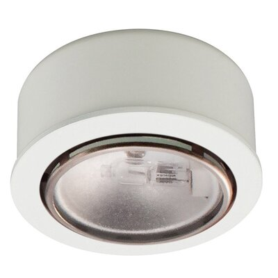 2.625 Under Cabinet Puck Light Finish: White