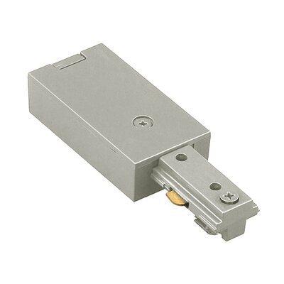 Halo Series Live End Connector Color: Brushed Nickel