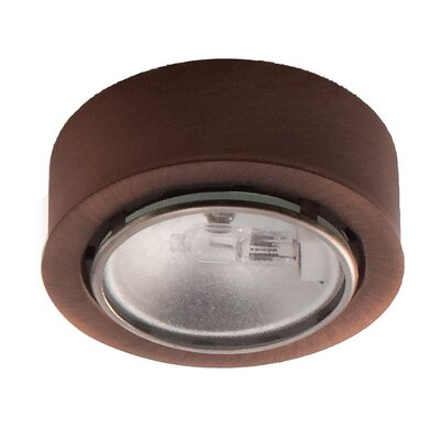 2.625 Under Cabinet Puck Light Finish: Bronze