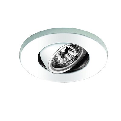 Miniature Low Voltage Recessed Light Finish: White