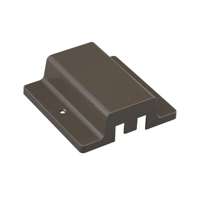 Floating Canopy Connector Finish: Dark Bronze, Track Type: Halo Series