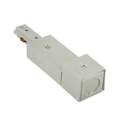 Wire End Connector for BX Cable Finish: Brushed Nickel, Track Type: Lightolier Series