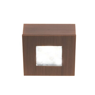 LEDme Button LED Recessed Individual Spotlight Finish: Copper Bronze