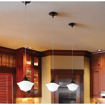 Milford LED Monopoint Mini Pendant Finish: Dark Bronze