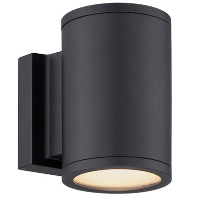 Furniture-WAC Lighting Tube 2 Light Outdoor Sconce