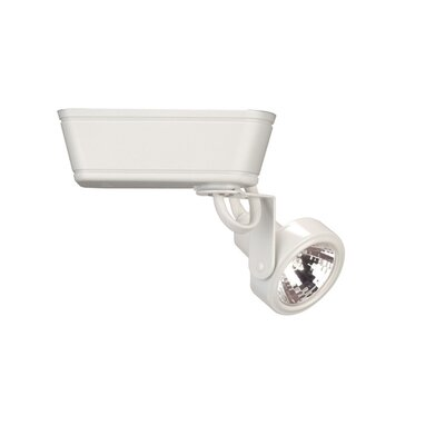 Gimbal 1-Light Low Voltage Track Head Finish: White, Bulb Type: 75W MR16 Halogen Bulb, Track Type: Halo Series