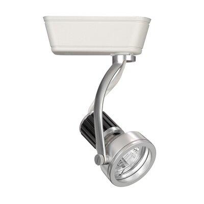 1-Light Techno Low Voltage Track Head Track Type: Lightolier Series, Bulb Type: 75W MR16 Halogen Bulb, Finish: White