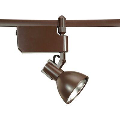 Flexrail2 1-Light Line Voltage Track Head Bulb Type: 100W PAR38, Finish: Bronze