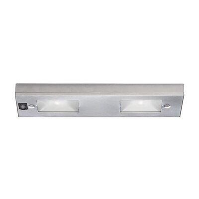 12 Xenon Under Cabinet Bar Light Finish: Satin Nickel