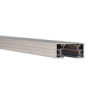 Halo H System Single Circuit Track Size: 23 3/4, Finish: Brushed Nickel