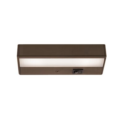 LEDme� LED 8 Under Cabinet Bar Light Finish: White