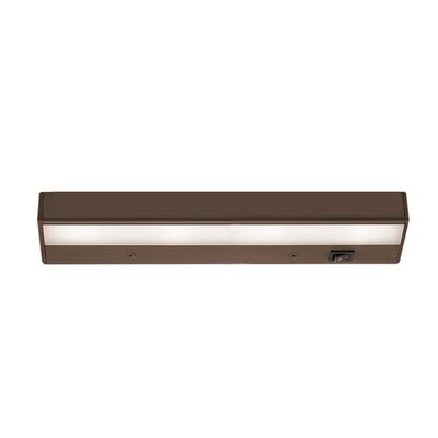 LED 12 Under Cabinet Bar Light Finish: Bronze