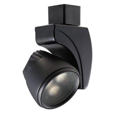 LEDmeReflex J Track Head Bulb Color: Cool White, Finish: Black, Beam Spread: Spot