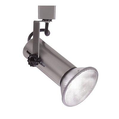 1-Light Series 188 Exposed Lamp Track Head Track Type: Juno Series, Finish: Brushed Nickel