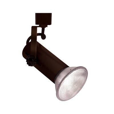 1-Light Series 188 Exposed Lamp Track Head Track Type: Juno Series, Finish: Dark Bronze